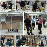 แผนกวิชาไฟฟ้ากำลัง เข้าร่วมแข่งขันทักษะวิชาชีพ ณ วิทยาลัยเทคนิคนนทบุรี