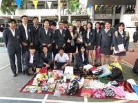กิจกรรมตลาดนัดปันรัก ปันน้ำใจ เพื่อเด็กไทยได้พัฒนา