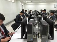 การแข่งขันทักษะวิชาชีพภายใน ด้านคอมพิวเตอร์