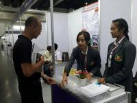 วิทยาลัยเทคโนโลยีปัญญาภิวัฒน์ ได้เข้าร่วมงานและร่วมออกบูทนิทรรศการ งานวันนักประดิษฐ์ 2560