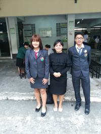 เข้าร่วมแข่งขันพูด (ภาษาจีน) เพื่ออาชีพ ณ โรงเรียนบางบัวทองราษฎร์บำรุง