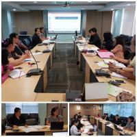 ประชุมวางแผนคณะผู้ทำงาน ศูนย์ทดสอบมาตรฐานวิชาชีพธุรกิจค้าปลีก (พนักงานขาย ระดับ 2 และ 3)